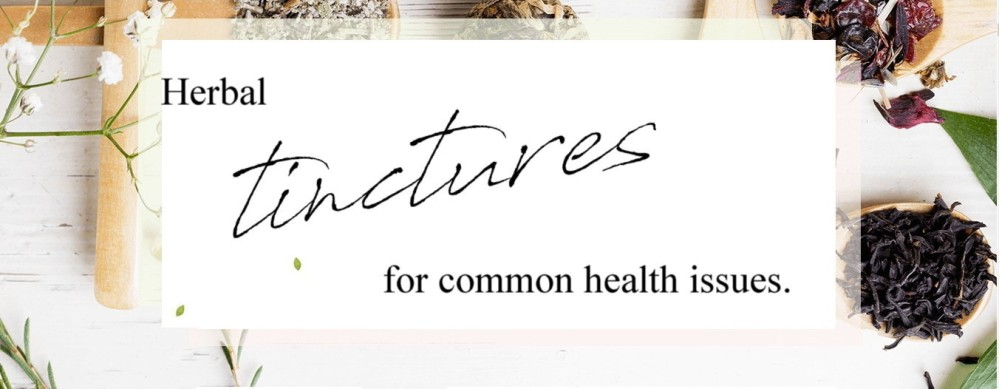 herbal tinctures for common health issues